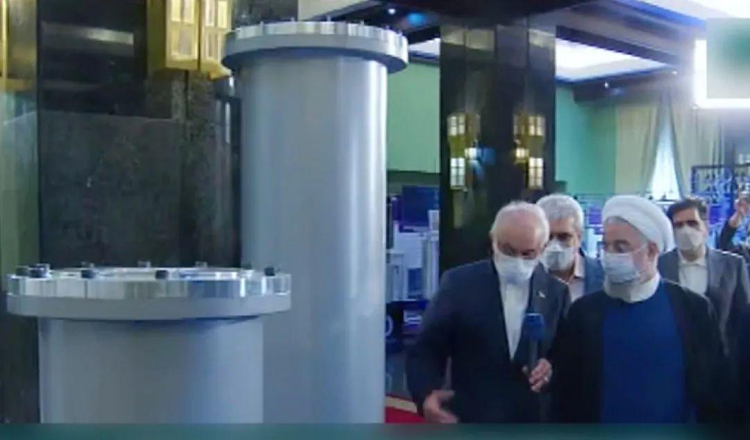 伊核谈判关键时期,伊朗揭幕超百项核技术成就……