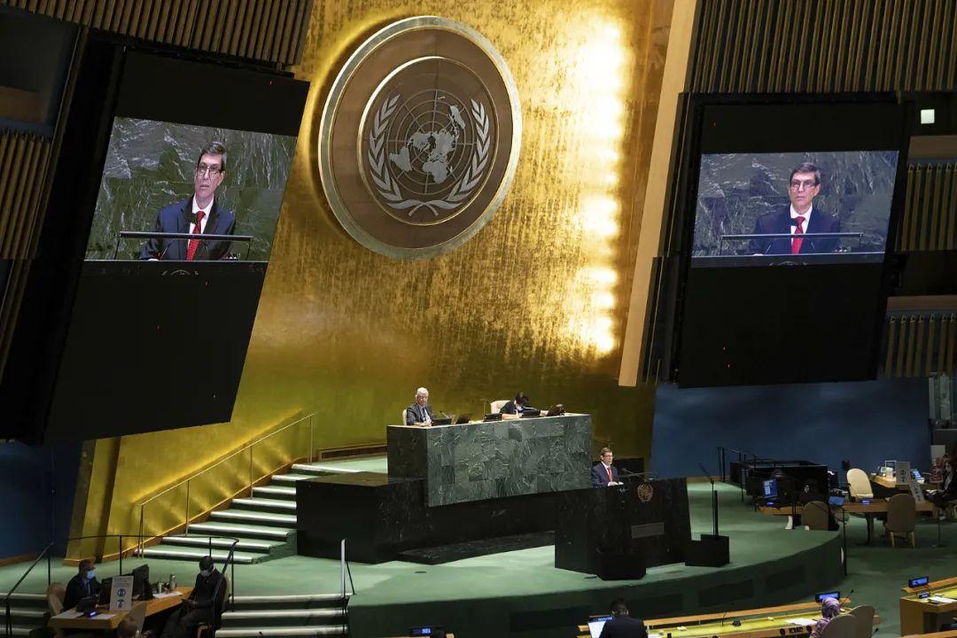 这个联合国大会决议,184国支持,美国反对