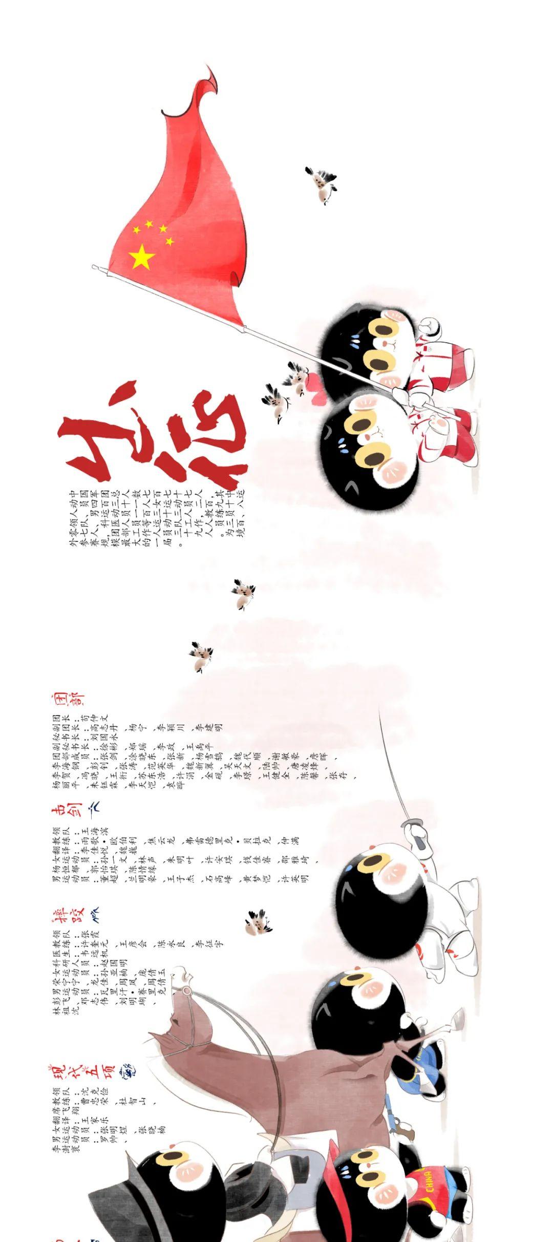 出征!中国奥运军团Q萌版来了!